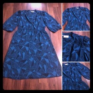 🔴2/$10 or 5/$20 Vintage 70s Lady Carol Dress